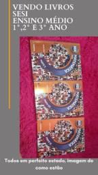 Livros ensino médio sesi 1°2° e 3° ano