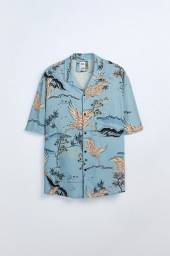 Camisa Zara - Estampa de Garça