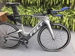 Bicicleta Seminova Felt IA 10 Carbono Triathlon