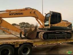 Escavadeira Hyndai220 lc 9