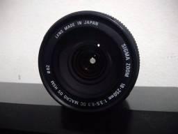 Lente Sigma 18-250mm Macro HSM
