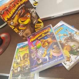 Trilogia: Madagascar (completa) DVD