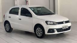 Somaco VW- Gol 1.0 Trendline 2017/2018 Completo com Manual e Chave Reserva