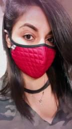 Máscara matelasse