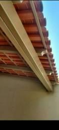Fazemos cobertura de estrutura metálica para casa área de serviço varanda e garagem