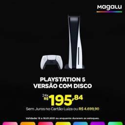 PlayStation 5 com disco