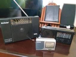 Vendo 3 rádios antigos fucionando