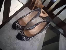 Sapato salto alto , numeração 37ao 38