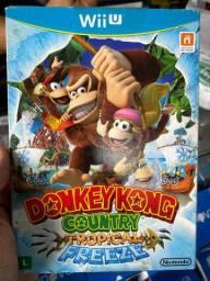 Jogo de nintendo WiiU Donkey Kong Country