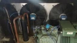 Unidade condensadora completa bitzer 6 h 35.2 com gelelo gas 404
