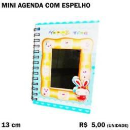 Mini Agenda com Espelho