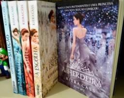Vende-se livros da coleção ?A seleção? de Kiera Cass