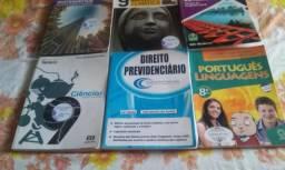Livros para doação. Ensino Fundamental