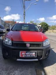 Fiat Strada 2015 cabine dupla completo - 2015