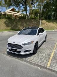 Fusion Titanium AWD 2016 Abaixo Fipe Baixa Km - 2016