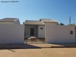 Casa para Venda em Várzea Grande, Jacarandá, 2 dormitórios, 1 banheiro, 2 vagas
