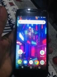 Troco moto g4 play 16 gb + 150$ por outro celular !