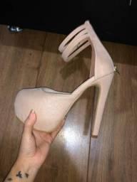Sapato salto 14cm