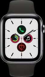 Apple Watch - Série 5 - 44mm - Alumínio - Pulseira Esportiva - Cinza - Lacrado