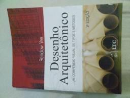 Livro Desenho arquitetônico um compêndio visual de tipos e métodos