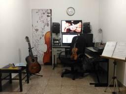 Aulas de Música: Violão ou Violino