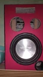 Vendo caixa de som de casa já com falante de 12 com 200 rms