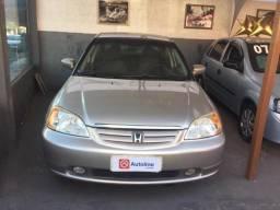 Honda Civic LX 1.7 Mecânico Gasolina 2001 - Completo, em ótimo estado de conservação! - 2001