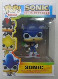 Boneco Funko Pop Games Sonic The Hedgehog With Ring 283