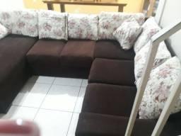 Jogo de sofá de canto