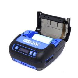Mini Impressora térmica GoLink GL28 80mm - Preto e azul<br><br>