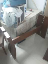 Base para mesa(sem o vidro)p/ até 6 cadeiras