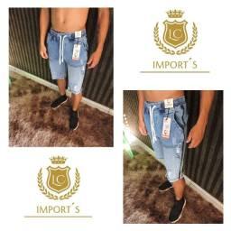 Bermudas jeans da caunt
