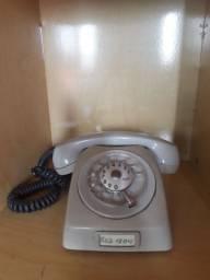 Telefone antigo de discar Ericsson final dos anos 70