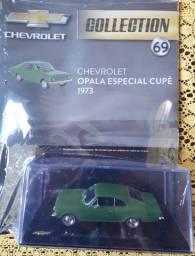 Miniatura Chevrolet Opala Especial Cupê 1973 1:43 + Fascículo (Lacrada)