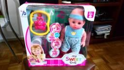 Boneca My Sweet Doll Importada Completa