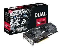 Placa De Vídeo Asus Rx 580 8g Oc Edition DDR5