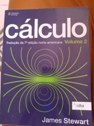 Livro cálculo 1 e 2 de James Stuart 7ª edição!