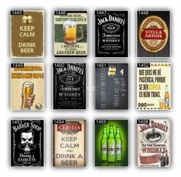 Quadros decortivos Bebidas