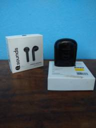 Fone bluetooth Earbud Airsound
