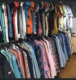 Vendo estoque de roupas