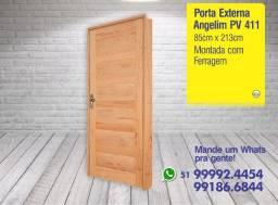 Porta PV 411 - 85 x 213cm - Angelim