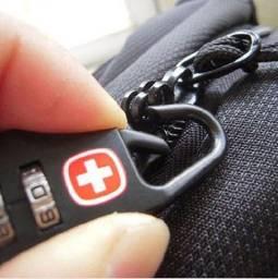 Cadeado Suiço - Kit com 5 unidades