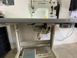 Máquina de costura reta e zig zag semi-industrial