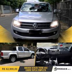 Amarok pick-up 2013 diesel completa