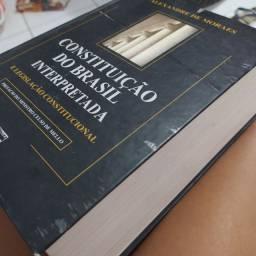Livro constituição do Brasil interretada