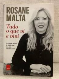 Livro - Tudo O Que Vi E Vivi - Rosane Malta