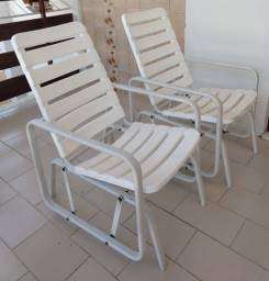Cadeiras de balanço (alumínio), Marfinite.