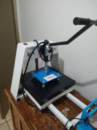 Máquina de estampar tecidos cerâmicas e canecas chinelos