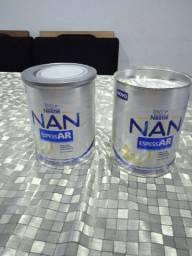 Vendo nan espessAr uma lata nova e outra com umas 350g mais o menos