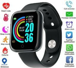 Relogio Inteligente Smartwatch D20/y68 Pronta Entrega (Somente mais 2 uni)